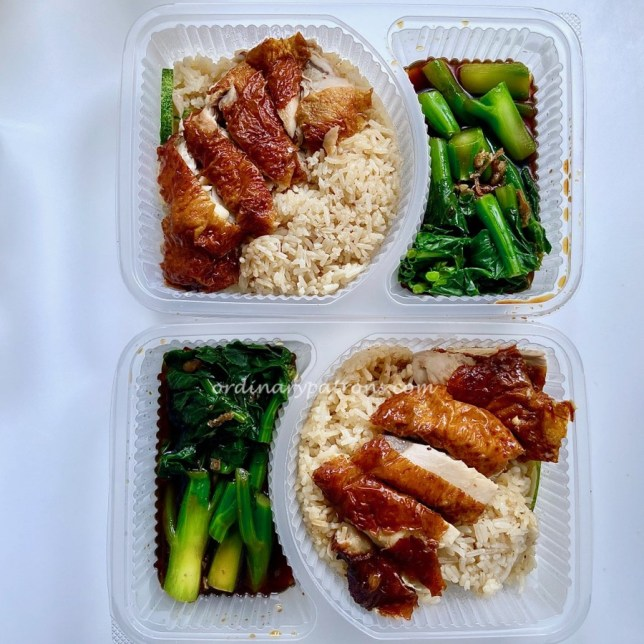 Chicken Rice Takeaway and Delivery Wee Nam Kee United Square