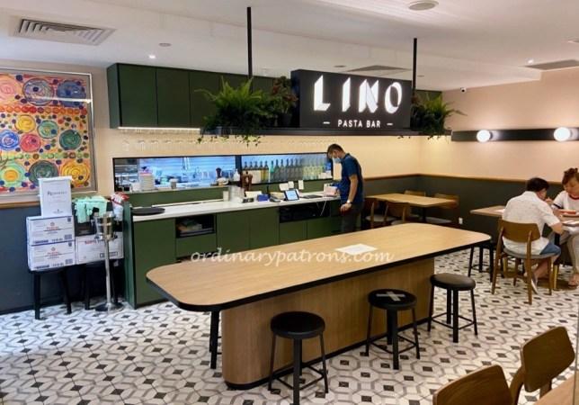 LINO Pasta Bar - $22++ Set Lunch