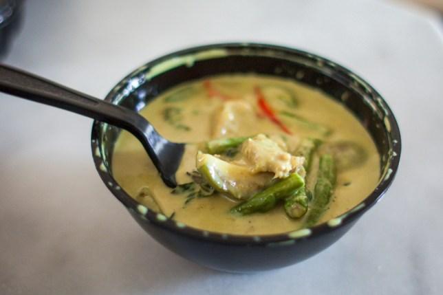 Sawadee Thai Cuisine Green Curry