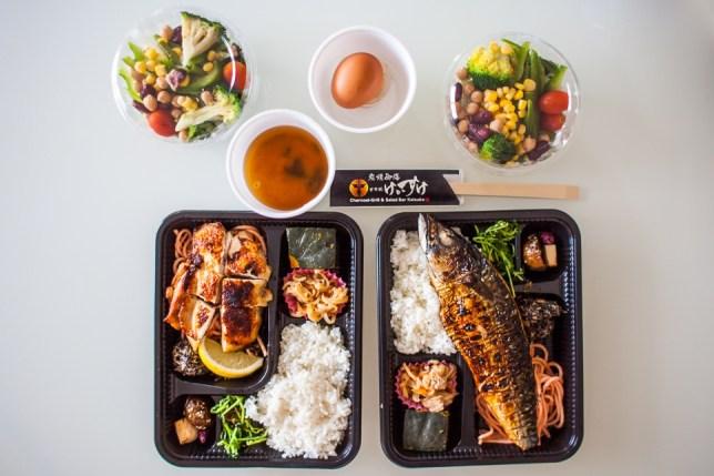 Charcoal-Grill & Salad Bar Keisuke Takeaway Sets