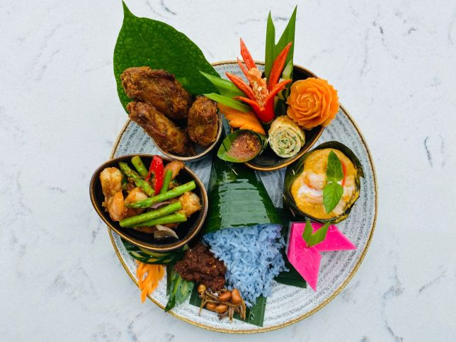 Blue Jasmine Nasi Lemak Bento for Singapore National Day