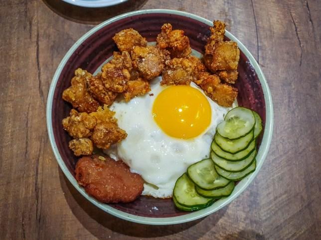 Rice Bowls at Fong Sheng Hao 豐盛號