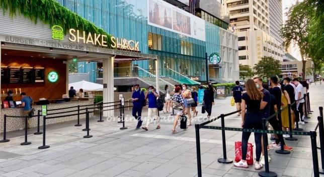 Shake Shack Orchard Singapore