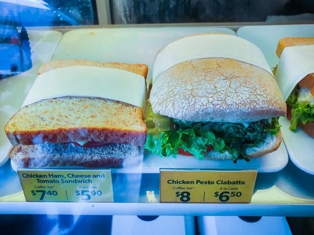 McCafé Sandwiches