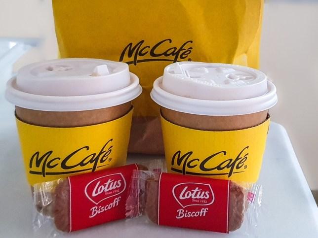 Coffee at McCafé