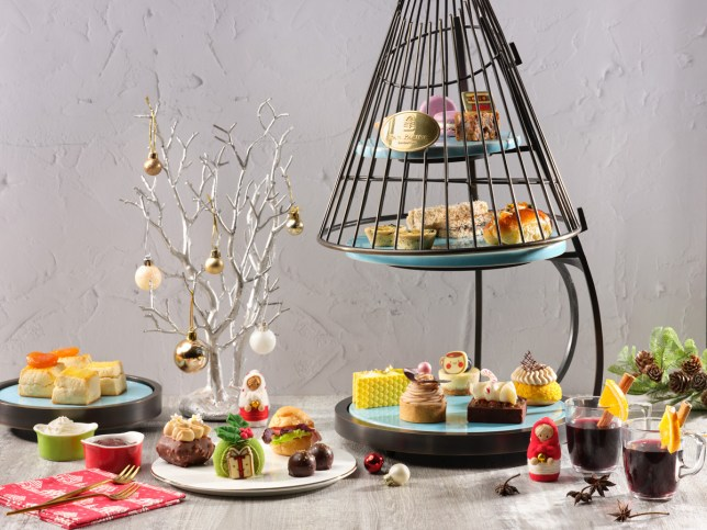 Festive High Tea - Pan Pacific Christmas 2020