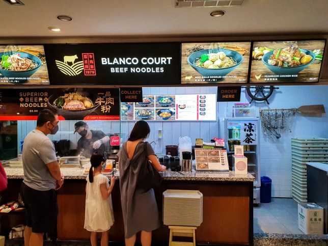 Blanco Court Beef Noodles