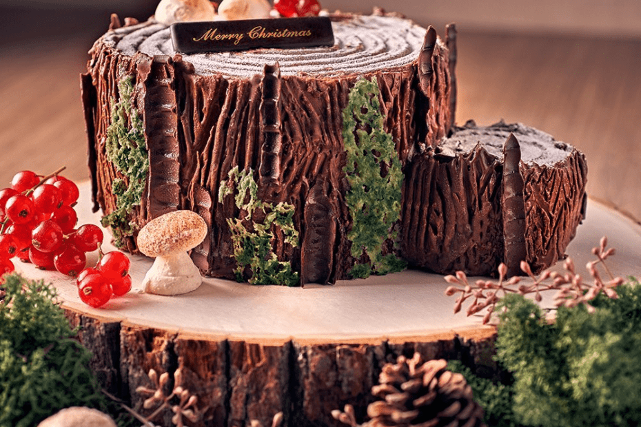 Christmas Log Cake in Singapore 2020