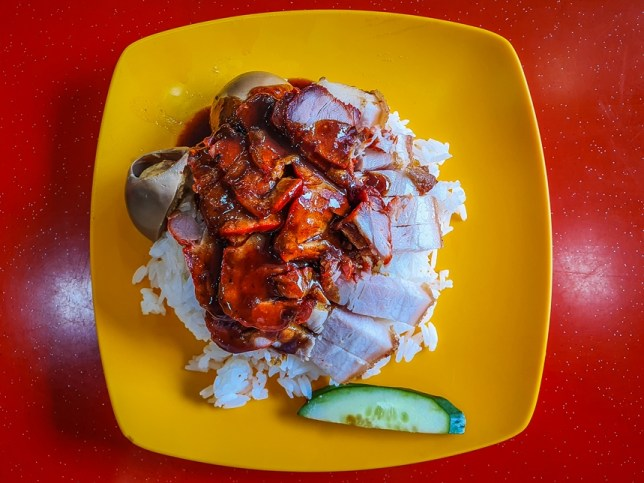 Char Siew with Roast Pork Rice