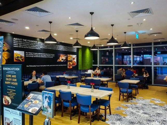 Bonding Kitchen Modern Peranakan Restaurant at Gateway Orchard