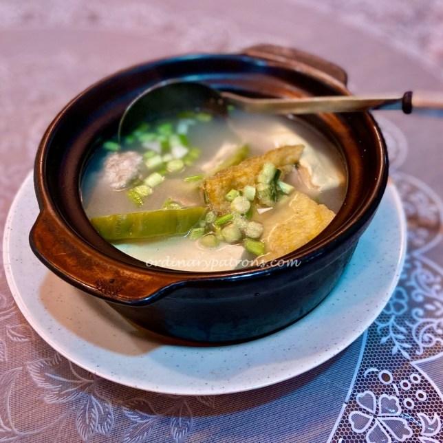Plum Village Hakka Restaurant in Singapore Yong tau fu