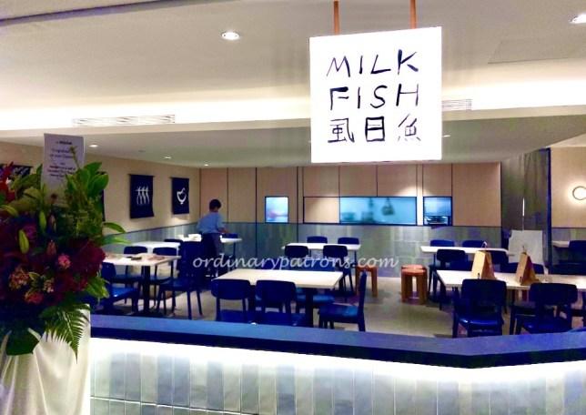 Food Takeaway From Raffles City Basement : Milk Fish, DTF, Tai Chong