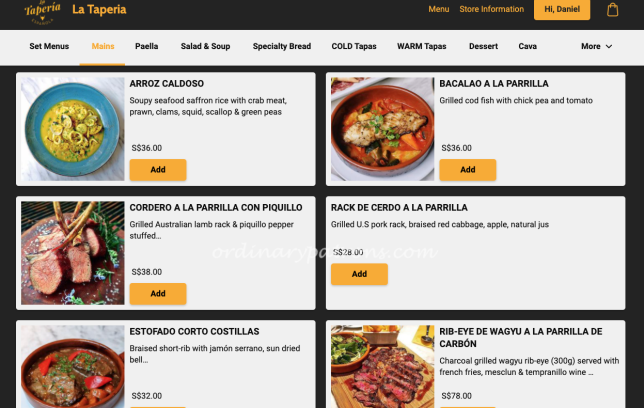 Spanish Food Delivery from La Taperia