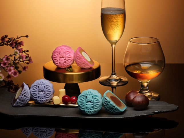 New Assorted Snow Skin Mooncakes Flavours - Singapore Marriott Tang Plaza Hotel