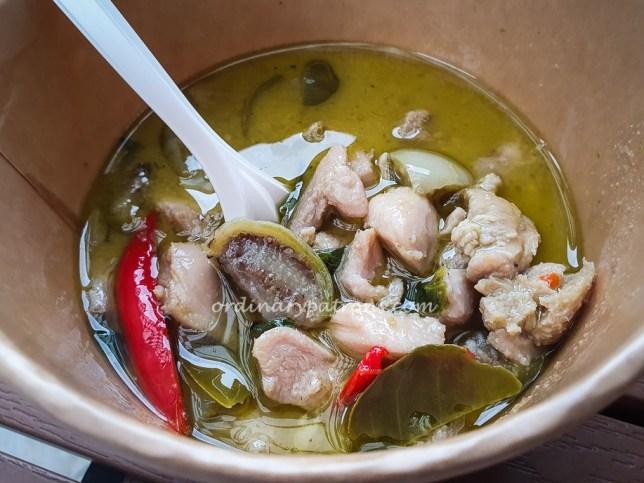 Thai Green Curry at ChaTraMue PLQ