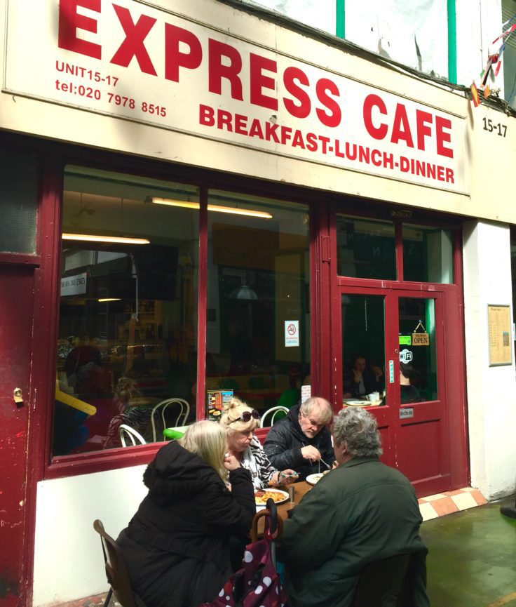 Express cafe English greasy spoon