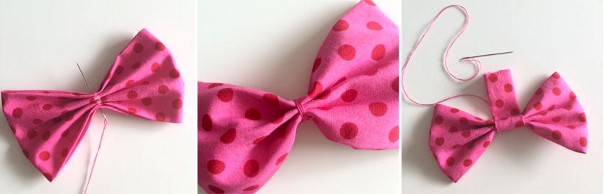 DIY Dog bow tie