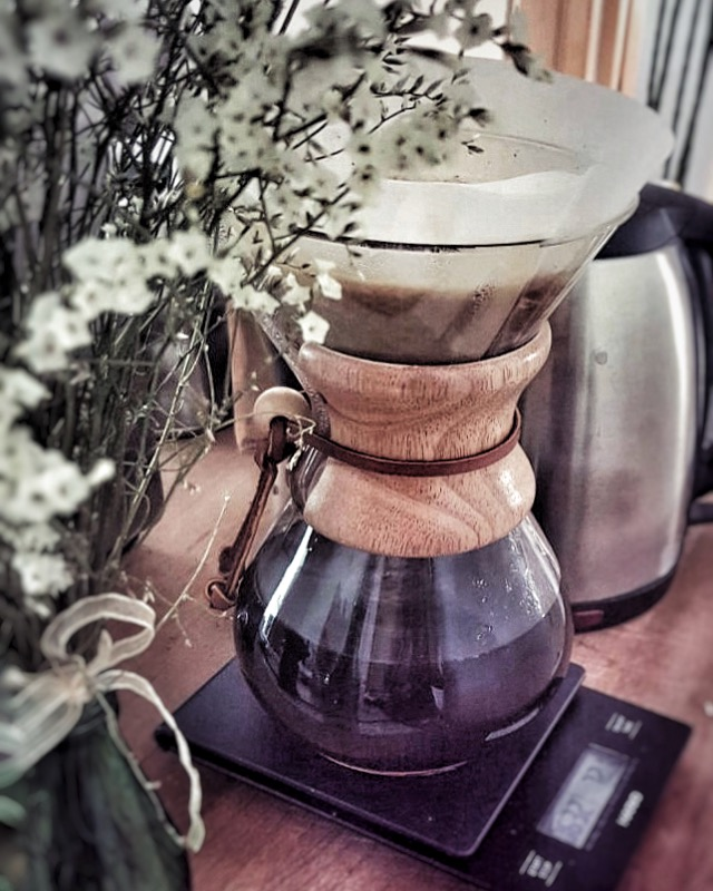 Perk Coffee in a Chemex