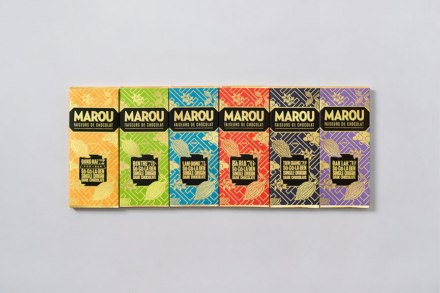 The Marou range of bean-to-bar chocolates