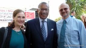 Us with US Ambassador Bush