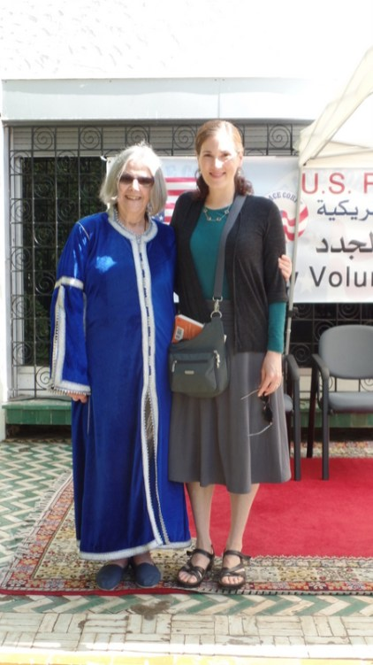The incredible, inspiring Alice, who at 86 years of age is the oldest volunteer serving in Peace Corps worldwide. And she is also a wonderful poet! I feel so fortunate to be her friend!