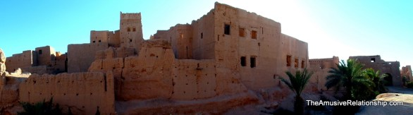 Larger buildings within the ksar