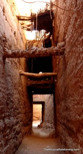 Within the old Jewish quarter of Tinghir