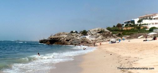 A beach!