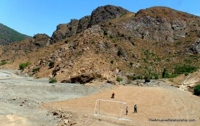 Soccer in the mountains