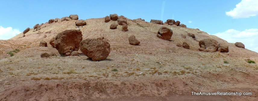 Stray boulders