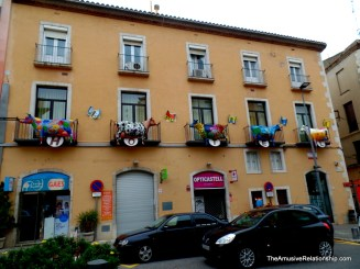 Decorated apartments