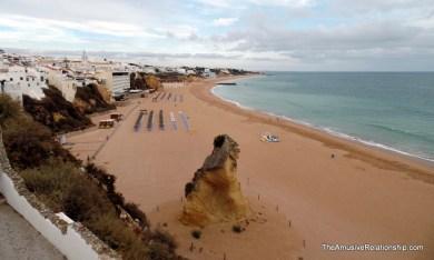Quite the beach
