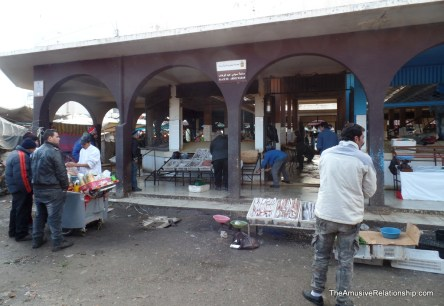 Fishmongers at the suq