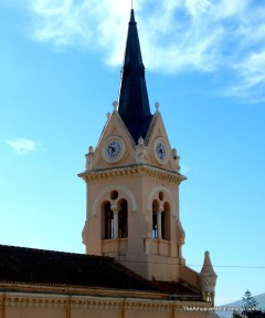 One of several churches