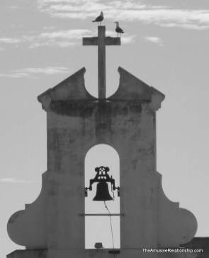 The bell on the old convent.