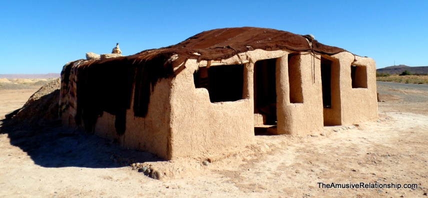 Traditional mud brick home