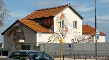 Some of the amazing graffiti around Lisbon