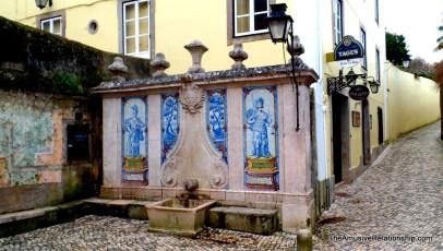 Public fountain
