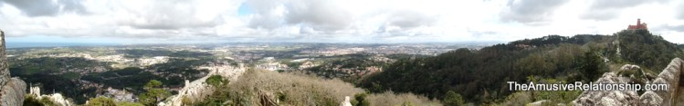 The rich agricultural area of Sintra and its environs