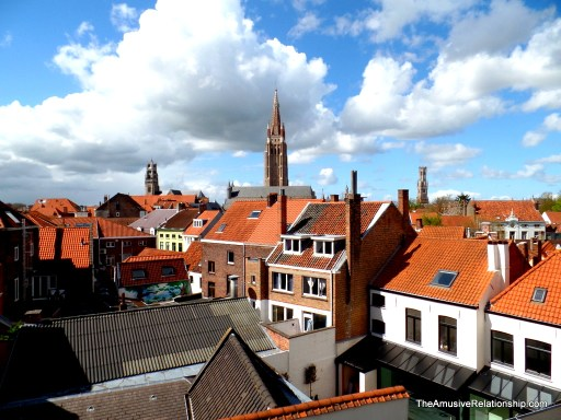 Bruges from my window