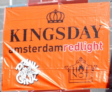 King's Day in the Red Light District