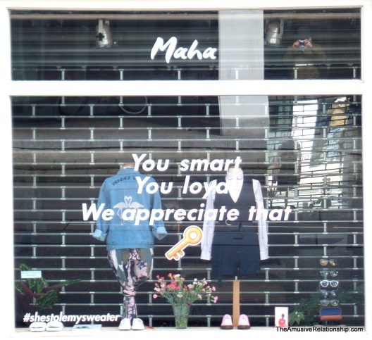 """You smart"