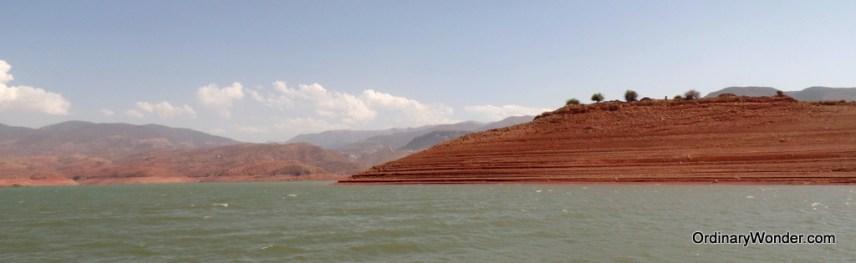 Reservoir Bin El Ouidane