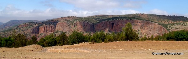 Road to Ouzoud