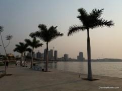 Boardwalk along the bay