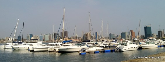 One of the several yacht clubs