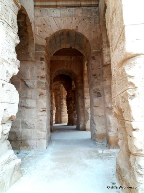 Exterior passageway