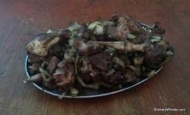 Traditional Mauretanian barbecue