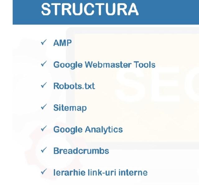 Structura de tool-uri pentru SEO
