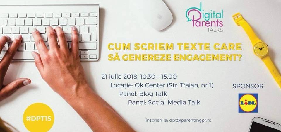 #DPT15-Cum să scriem texte care să genereze engagement